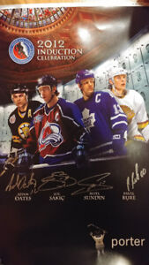 Hockey Hall of Fame 2012 Induction Poster - Limited Print
