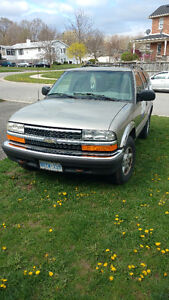 1999 Chevrolet Blazer safetied or as is