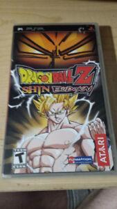 PSP Dragonball Z Shin Budokai (Neuf)(Rare)