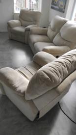 Recliner Sofa an armchairs