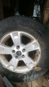 3 tires on ford rims 235 70 r15