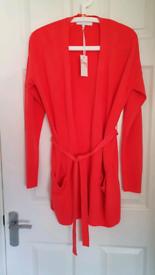 Women's Next Coral Cardigan size Medium
