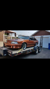 mustang gt 1987 evaluer a 9000 laisse a 7000