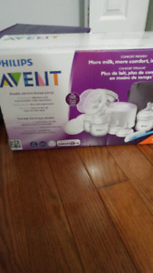 Avent double electric pump - never used