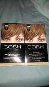 4 boxes of hair color