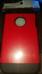 Brand New iPhone 5 / 5S red rubber plastic case
