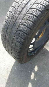 4 x Michelin XI2 - winter tires with rims