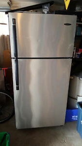 Stainless steel frigidaire