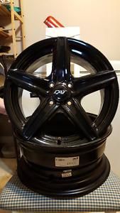 Almost New 15 Inch X 6.5 Inch 4 Bolt Rims For Sale!!!