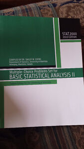 STAT 2000 Smiley Cheng Problem Textbook