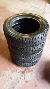 4 Winter tires for sale: Dunlop Graspic DS-1 185/65R15 88Q