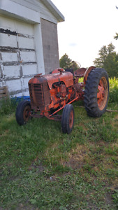 Antique case tractor for sale or trade