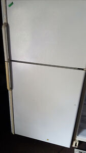 Fridge 200.00, white, frost free, clean, Delivery available