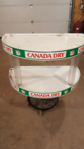 Canada Dry display