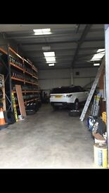 INDEPENDENT TYRE GARAGE FOR SALE NEXEN TYRES WITH LIFETIME GUARANTEE NO COMPETITION WITHIN 30 MILES