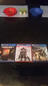 3 Brand new games ps4 still in packaging