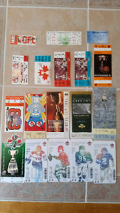 CFL 15 Grey Cup Tickets and 3 Misc Tickets