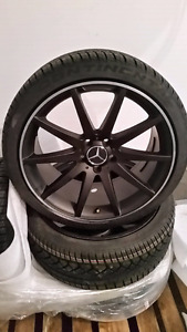 """19"""" AMG reps Mercedes C Class wheels with 245/35-19 + 255/35-19"""