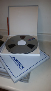 (12) 10 inch Pro Audio Tapes FOR SALE