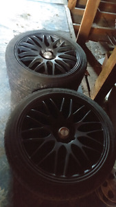 4 bolt universal rims and tires