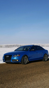 Mint inside and out sprint blue s4