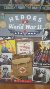 Books/ lg glossy pics & history/2nd World War -New (Scholastic)