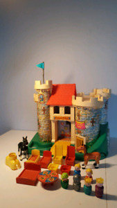 FISHER PRICE 993 château vintage