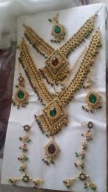 Asian Pakistani Indian bridal jewellery set
