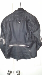 Shift Ladies Leather Motorcycle Jacket