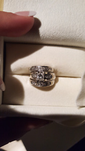 Gorgeous Size 5.5  Ring Set