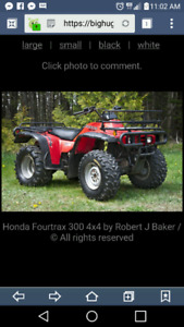 Looking for old honda atvs
