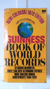 1978 Guinness book of world records