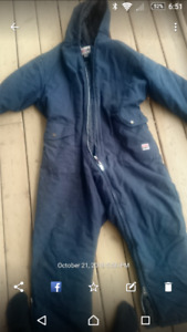 Insulated Work King coveralls