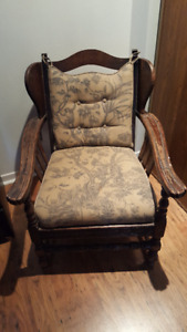 Anitque Reupholsteed Chair