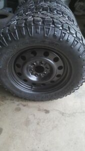 "Ford F150 18"" 6 bolt rims and tires"