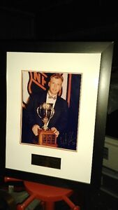 Martin Brodeur signed photo