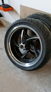 Victory Hammer wheels and tires