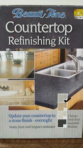 Countertop refinishing kit