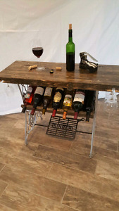 Singer wine rack
