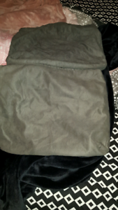 Cushion covers grey each one is 40cm across x 40cm down must go Huntfield Heights Morphett Vale Area Preview