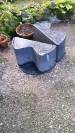 Water butt stand