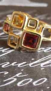 10k Gold Geometric Ring