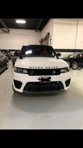 2016 RANGE ROVER SPORT SVR **LEASE TAKE OVER**