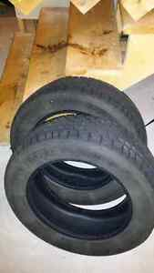 Two marshall winter tires 205/60R16 $100