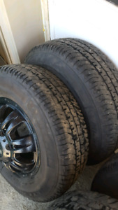 17 inch 8x180 duramax dually rims and tires