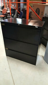 Global Lateral Filing Cabinets - $250 - 3 Drawer Lateral
