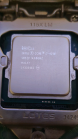 Intel I7-4790 3.6ghz 4 core CPU