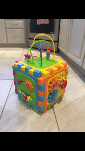 Activity Cube & Bead Maze
