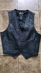 Leather vest Size 9 xs