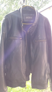 Guess leather jacket its a large